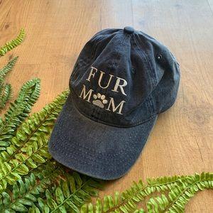 Accessories - FUR MOM strapback hat cap paw print baseball hat